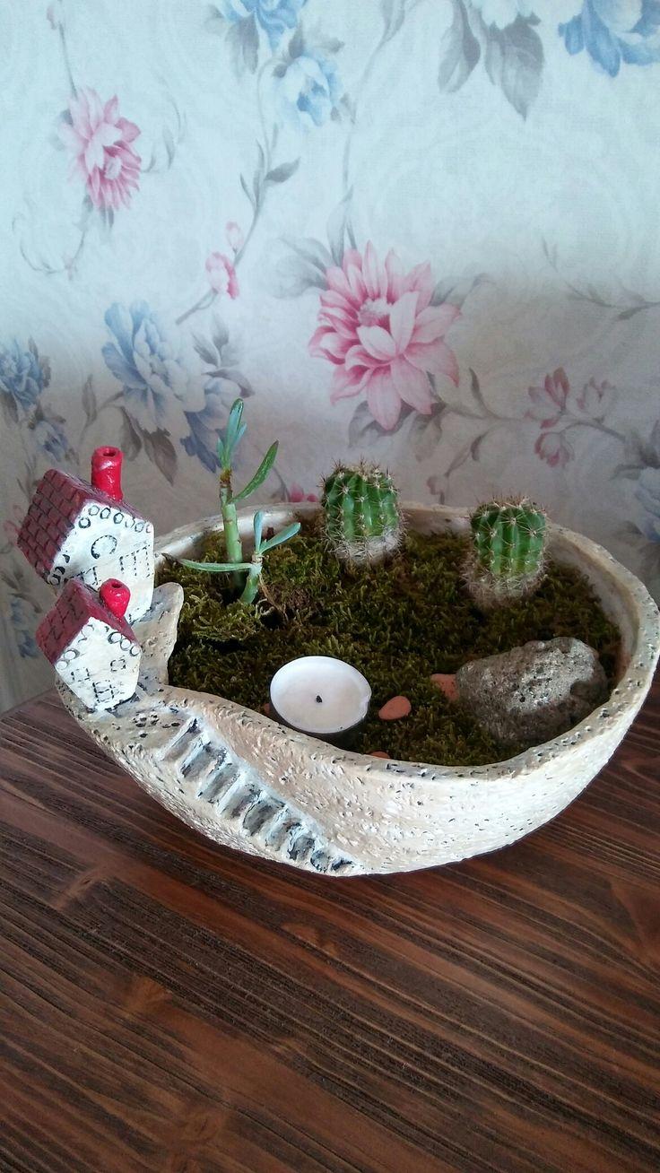 Small garden seramik saksı