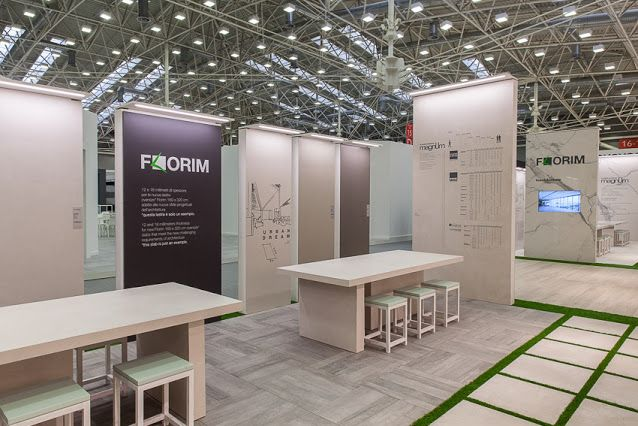 Granite Slabs For Photo Booth : Florim booth cersaie bologna florimcersaie