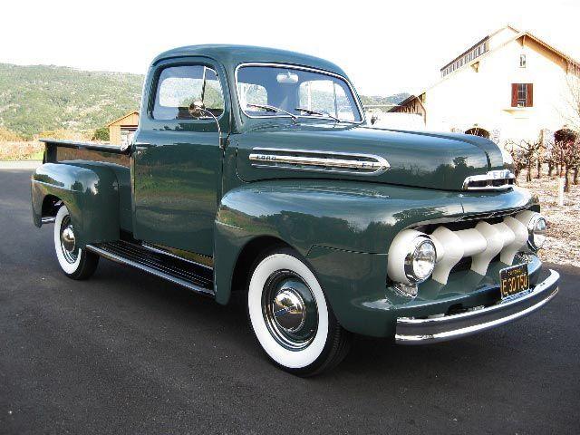 1951 Ford F1 5-Star Cab Flathead 6