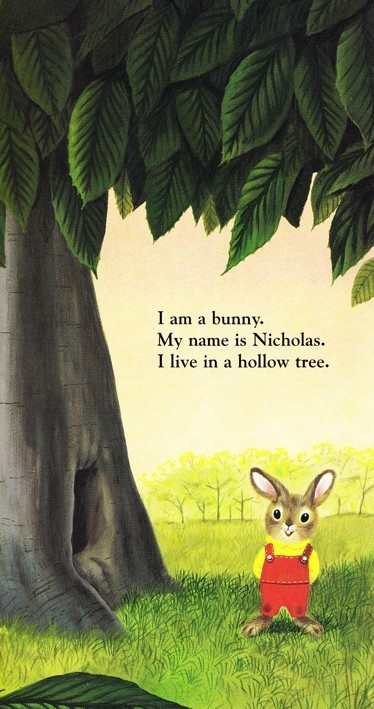 Nicholas the Bunny  - Richard Scarry...........This made me smile!! Hello Nicholas the bunny!!!! K