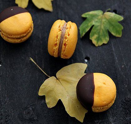 Autumn Macarons Two Ways