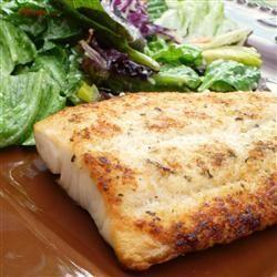Broiled Parmesan Talapia Recipe via @SparkPeople