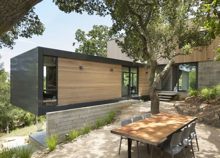IN THE BOX | Shands Studio | Container Hillside Home | Connex aka Shipping Container Living