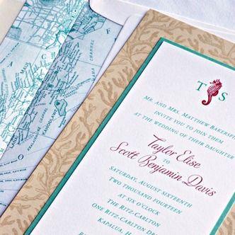 171 best Beautiful Wedding Invitations images on Pinterest Birth