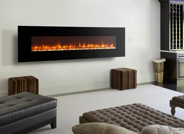 Electric Fireplaces Wall Mount Hanging Fireplace