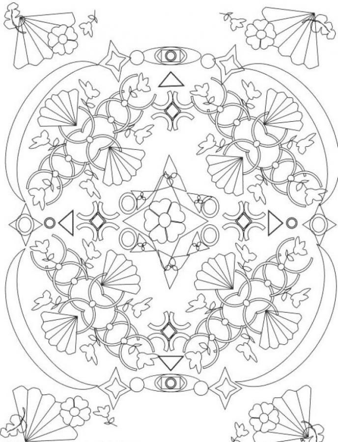 164 best Color Art Therapy Mandalas images on Pinterest Coloring