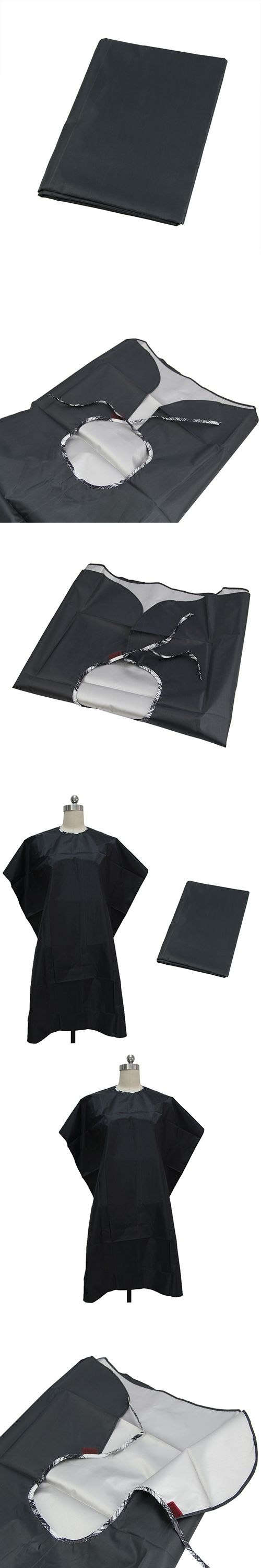 Adult Kid Waterproof Barber Haircut Hairdresser Cape Gown Cloth Salon Apron