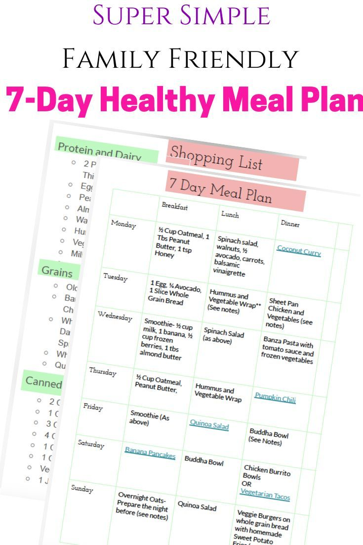 Here is your super simple familyfriendly healthy meal