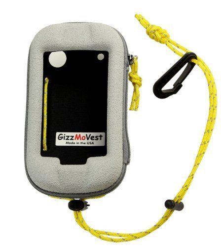 #marineelectronics Garmin Montana 650t 650 600 Heavy-Duty CASE made by GizzMoVest LLC in 'Marine White' w/ Cord Loop Lanyard w/Clip. MADE…