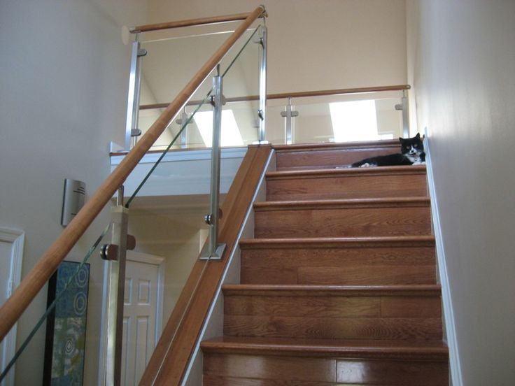 Nice Beautiful Glass And Stainless Steel Rail System Completed By Loudoun  Stairs, Inc.