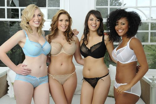 """I hate that these are the """"Plus Size"""" models. Uhm. No. These are the """"Regular People"""" models."""