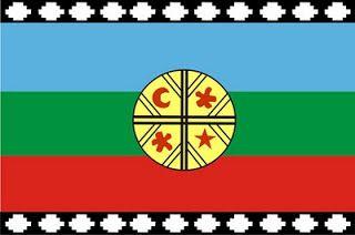 Información Pueblo Mapuche: Bandera y significado de sus colores