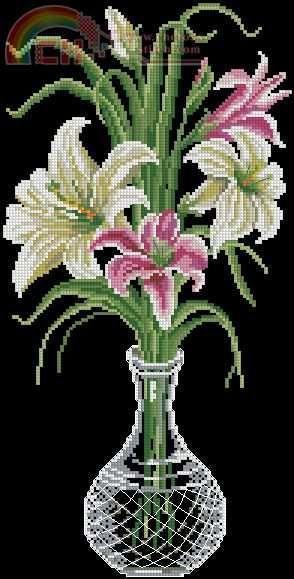 `Jarrón con flores acapulcos