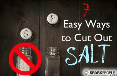 Easy Ways to Cut Sodium Intake | via @SparkPeople #nutrition #sodium