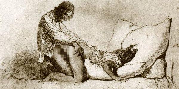 Nascido em 1827, Mihály Zichy foi um grande representante da pintura romântica Húngara. Além de suas grandes pinturas para a alta sociedade da Húngria, Mihály guardava ilustrações eróticas bastante perversas para a época.