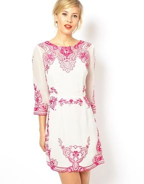 ASOS Placement Embroidered Shift Dress the neon and nude http://www.asos.com/ASOS/ASOS-Placement-Embroidered-Shift-Dress/Prod/pgeproduct.aspx?iid=3528945&cid=13934&sh=0&pge=2&pgesize=36&sort=-1&clr=White%2fpink