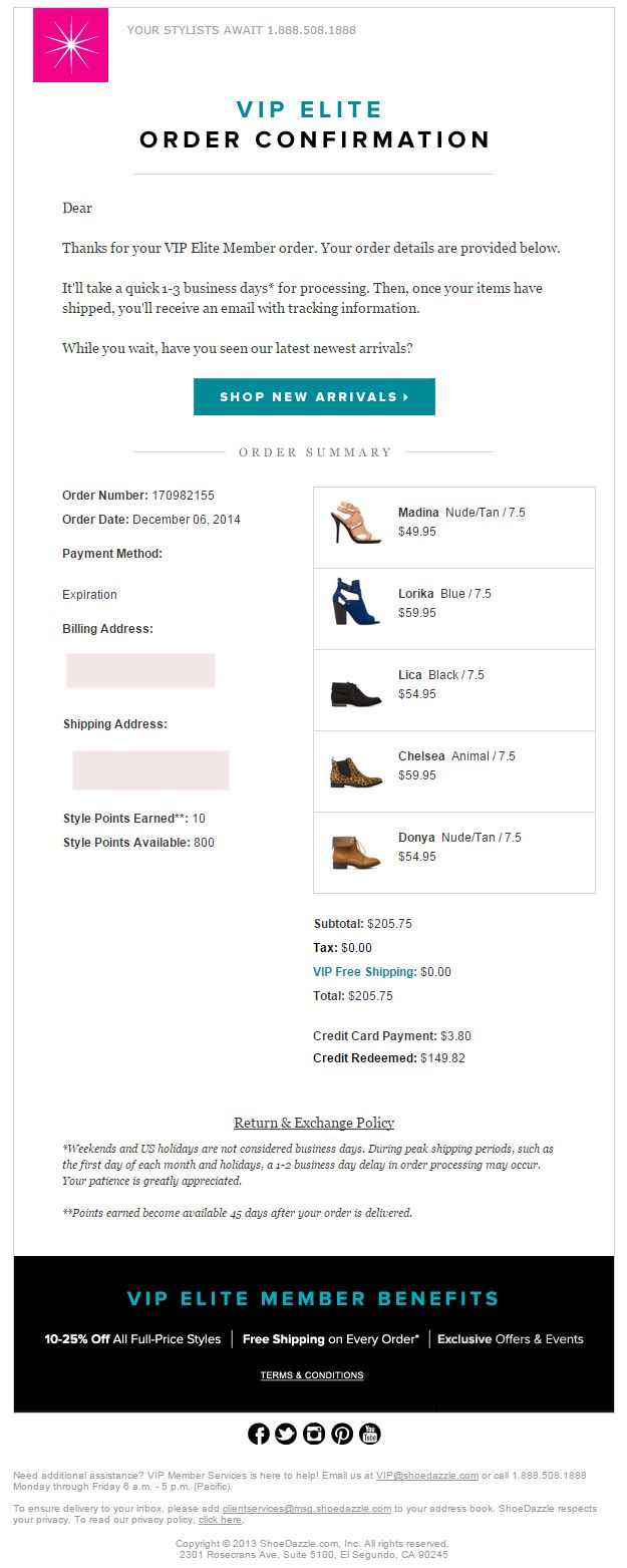15 best Order confirmation Inspiration images on Pinterest