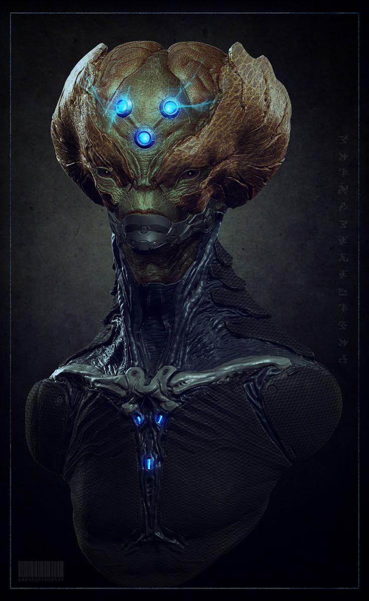 http://schonkar.cgsociety.org/art/zbrush-photoshop-brainiac-concept-creatures-3d-1247097