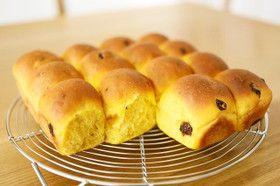たっぷりかぼちゃ50%ちぎりパン HB by pizzacrust [クックパッド] 簡単おいしいみんなのレシピが262万品