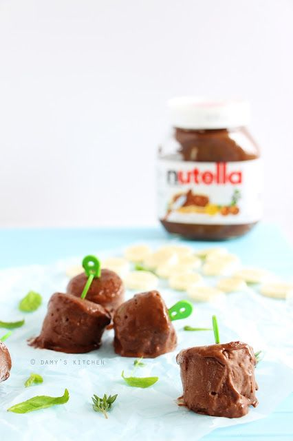 Damy's Kitchen: Nutella ve Muzlu Dondurma