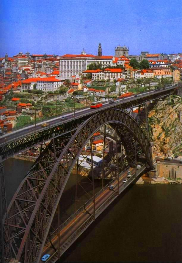 Porto, Portugal  -  on the Iberian peninsula  -  2nd largest city in the country  -  dates back to the 4th century (300s)  -  registered as a World Heritage site.