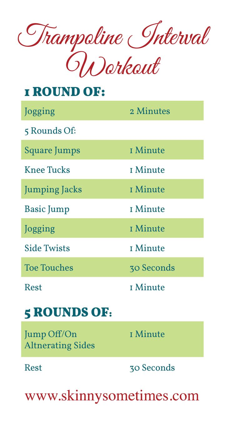 trampoline workout-hmmm  sounds fun if i could keep from having to use the restroom every 10mins @Mindy Sedberry @Kyland-Danielle Wegner