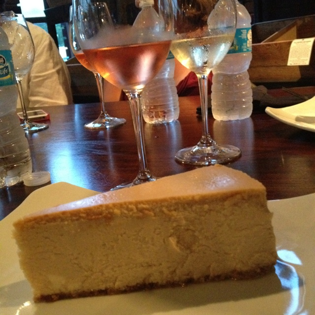 The cheesecake at FORM in Savannah - THE best! Worth every calorie!