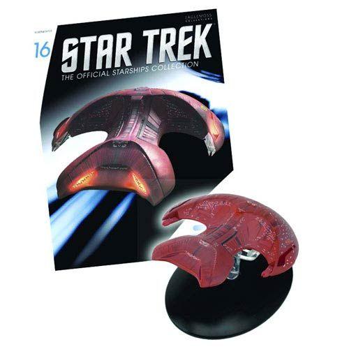 Star Trek Starships Ferengi Marauder Vehicle with Magazine - Eaglemoss Publications - Star Trek - Vehicles: Die-Cast at Entertainment Earth http://www.entertainmentearth.com/prodinfo.asp?number=DC00616&id=TO-603025911