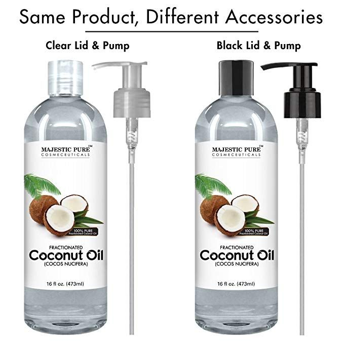 Amazon com : Majestic Pure Fractionated Coconut Oil, For