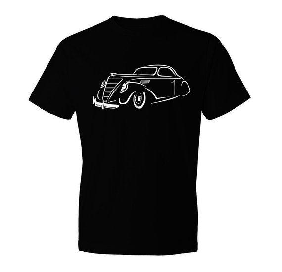 Classic Car Shirt Of Lincoln Zephyr Unisex Car Enthusiasts Car