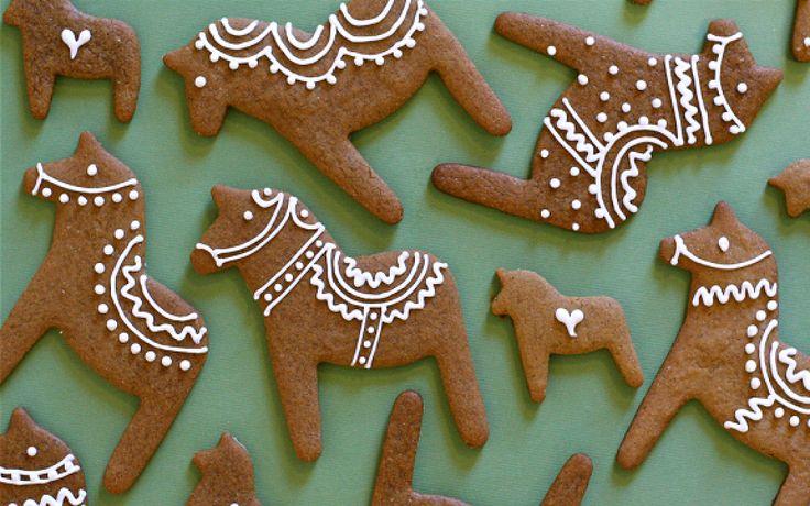 Dala horse gingerbreads