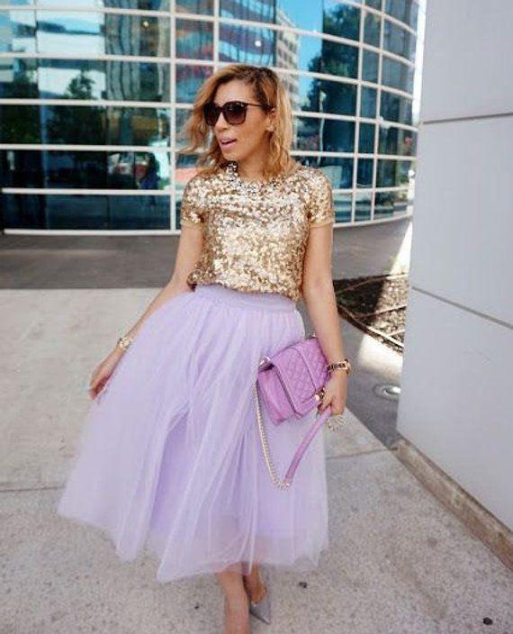 Lavender tulle skirt, tutu skirt,adult tutu