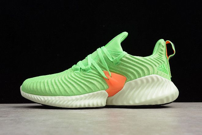 589e1c52488 adidas AlphaBounce Instinct Shock Lime Aero Green Hi-Res Orange CG5515