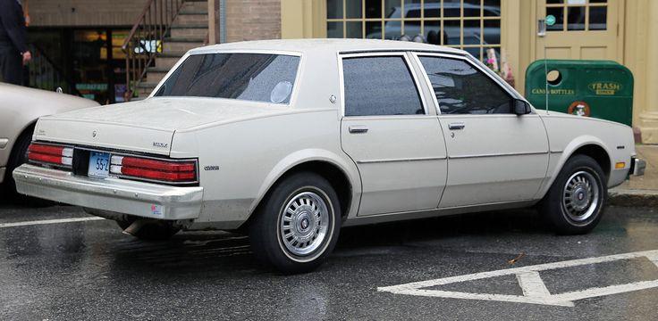 1983-1984 Buick Skylark Custom 4dr