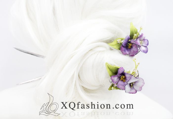 Flower Hairpieces by XQFashion.deviantart.com on @DeviantArt