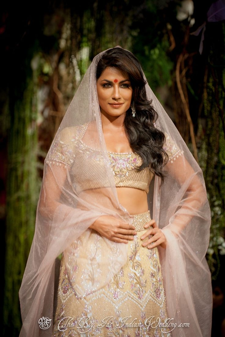 Bollywood model and actress Chitrangada Singh for Tarun Tahiliani
