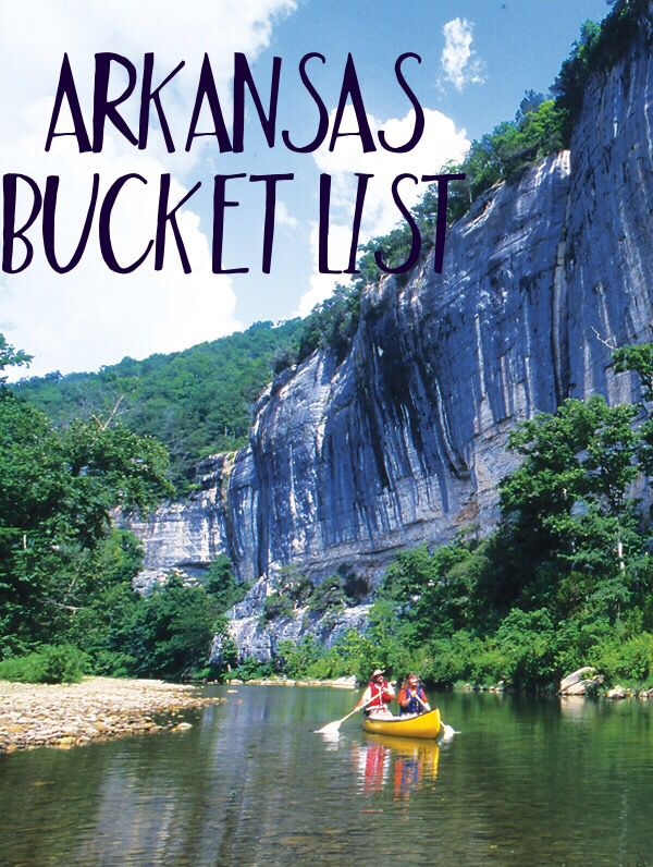 My Arkansas Bucket List || Arkansas has so many beautiful places to go and things to do and see! From northwest Arkansas to central Arkansas and the Ozarks there's something for everyone - hiking, kayaking, museums! Plan your trip now and see my top things to do in Arkansas.