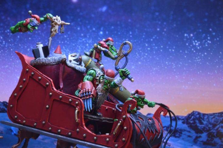 Ork Santa, Ork Santa By Midget Gems