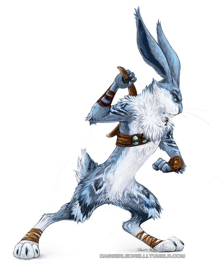 RotG - Bunnymund by ~Majime on deviantART