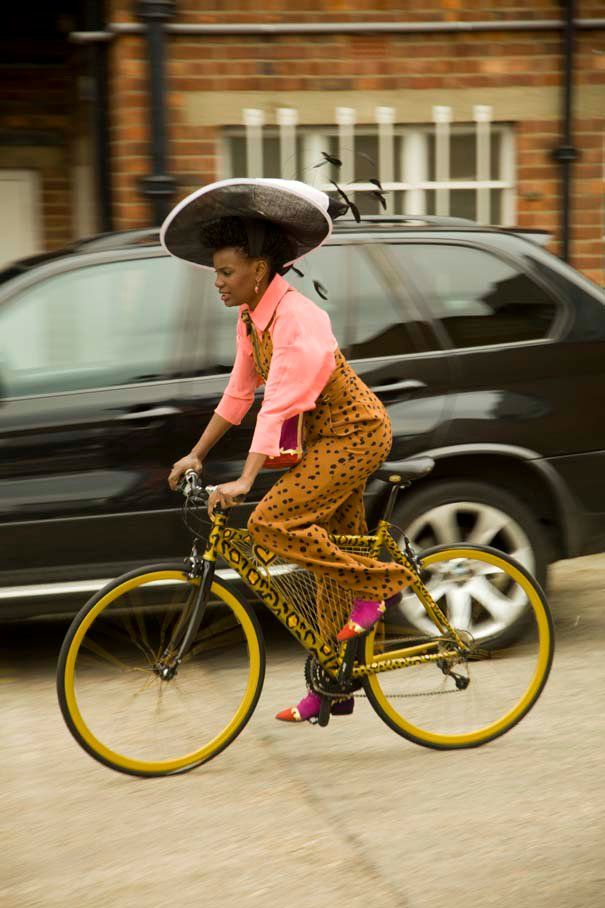 AfriPOP! » Global African Culture » Shingai Shinowa Preps Her London-Brighton Bike Ride For Charity