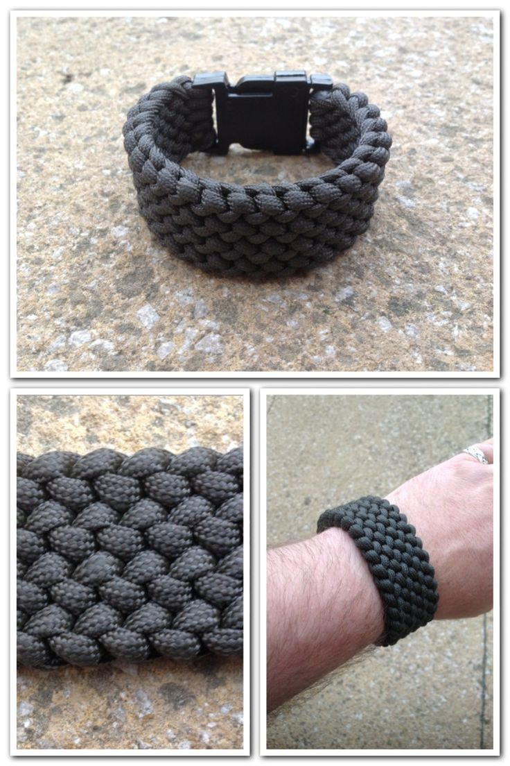 Paracord is always a very useful survival tool to have on hand. Everythingparacorduk: Conquistador Paracord Bracelet.