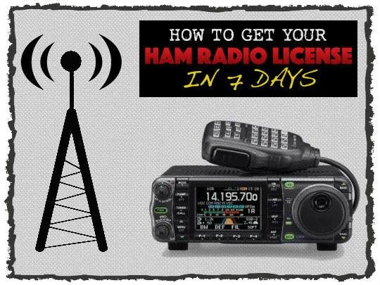How To Get Your HAM Radio License In 7 Days. The HAM Radio license it seems is one of the biggest prepping mysteries. Communications will be very important
