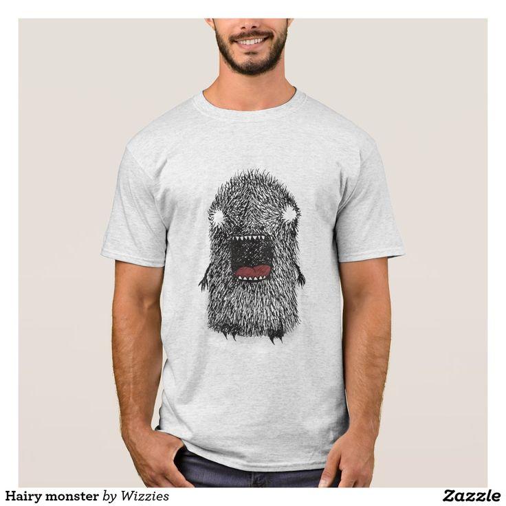Hairy monster T-Shirt