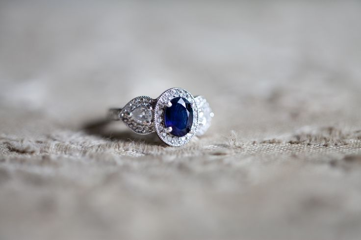 Vintage Saphire Engagement Ring - YES This is my dream engagement ring, for sure. :)