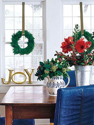 110+ Christmas Decorating Ideas That Will Make Your Home Merrier Than Ever.  WeihnachtenLand WeihnachtsschmuckUrlaub DekorierenKirchenschmuckLandlebenMerry  ...