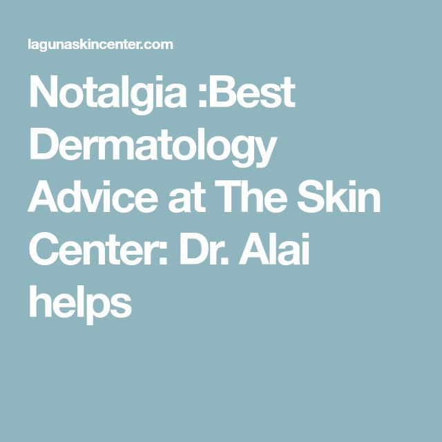 Notalgia :Best Dermatology Advice at The Skin Center: Dr. Alai helps