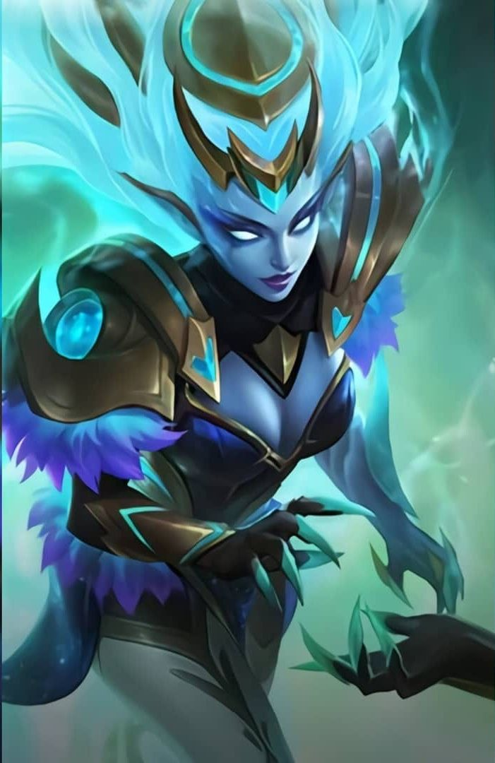 Selena Zodiac Mobile Legend Wallpaper Dark Wallpaper Iphone Alucard Mobile Legends