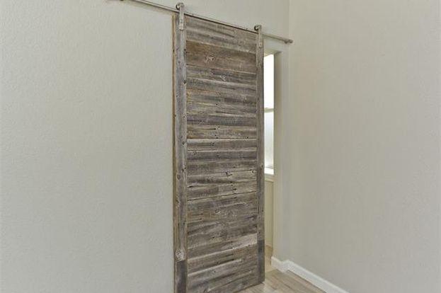 This barn door going into my bathroom