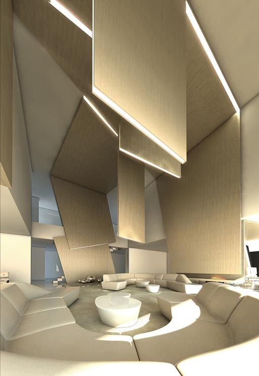 Proposal for Interiorism for family housing project in Beirut / The architecture studio A-cero