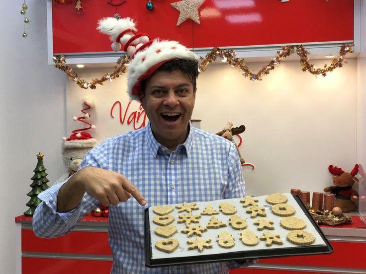 Baking salty cookies